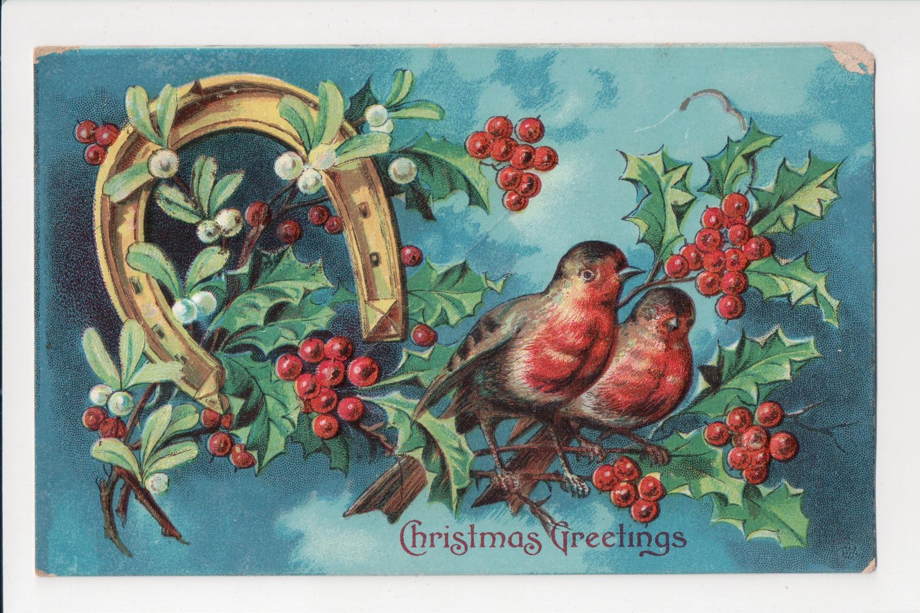 Advent calendar december 4 christmas greetingsthe postcards of every m4hsunfo