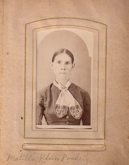 Matilda Klein Roahrig