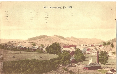 West Waynesburg,  Pennsylvania 1909