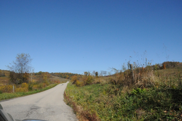 Driving up Ceylon Lane