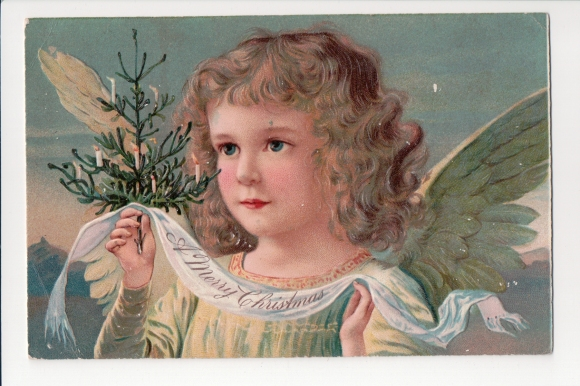 A Merry Christmas - a Paul Finkenrath Postcard