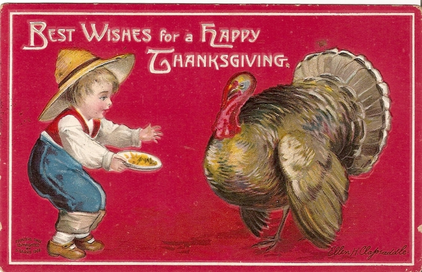 Thanksgiving Clapsaddle Card