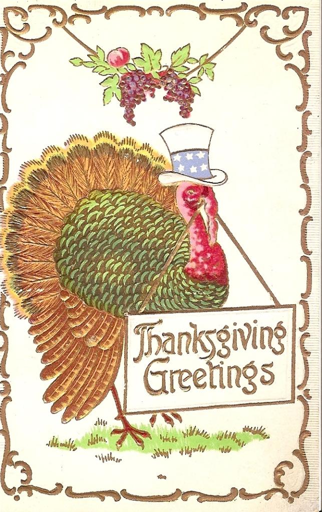 Thanksgiving Greetings, 11.24.1908
