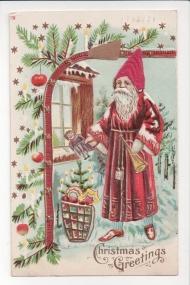 St. Nicholas, the gift giving saint of 4th century Myra