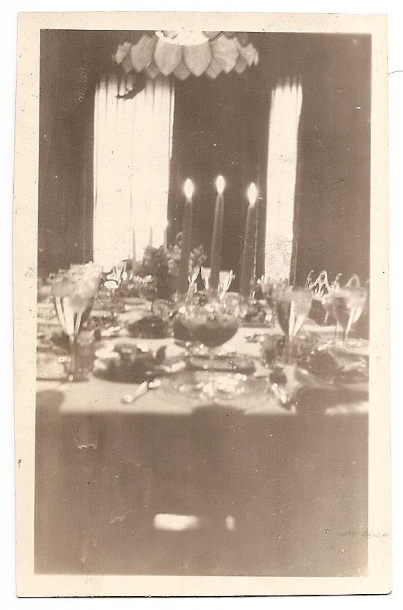 Aunt Alice's Festive Table