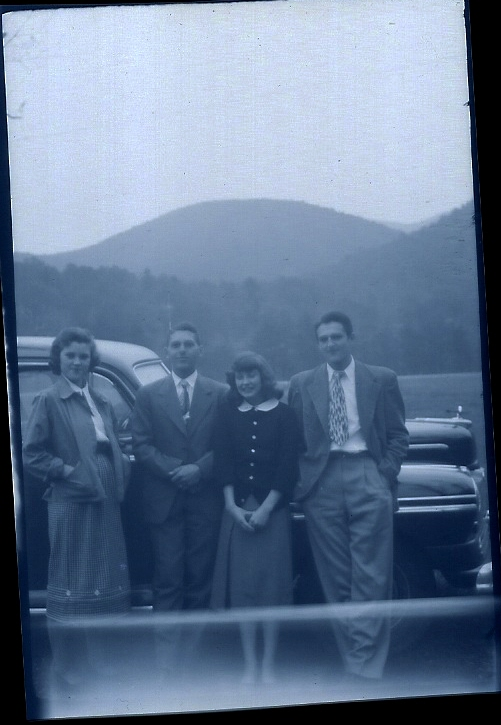 Norman S. Strickland (19), second from left.