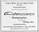 Aultman Ad 1892 Trinidad Directory