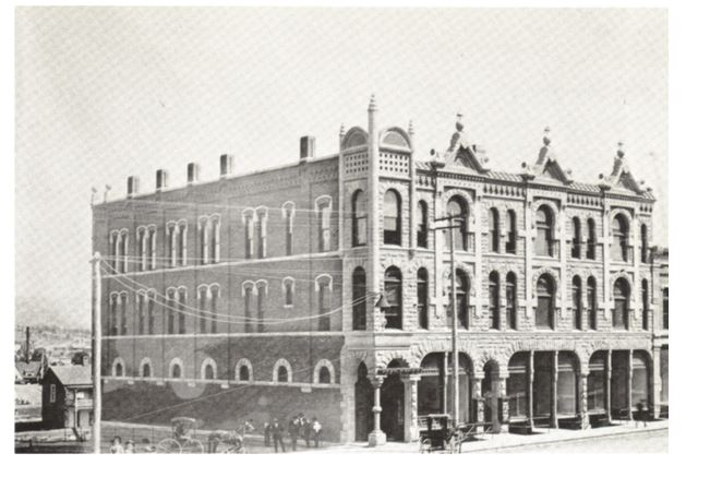 The West Building, site of the first Aultman Studio