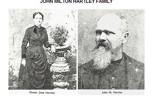Minor Relatives. Photo. 1890. Hartley, Hannah Keenan and John Milton