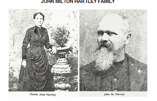Minor Relatives. Photo. 1890. Hartley, Hannah Keenan and John Milton
