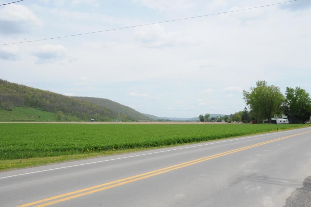 Landscape. Cowanesque Valley, Tioga County, Pennsylvania.