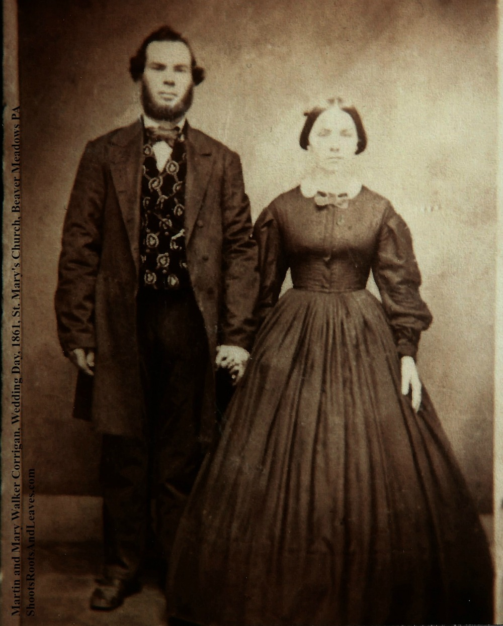 Photograph.CorriganMartinMary.Wedding.1860.EH2